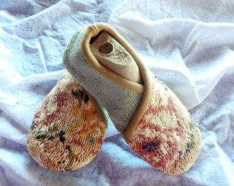 Recycled Sweater Slippers