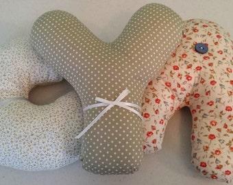 Handmade Letter Cushions