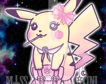 "A6 ""Pikachu"" Art Print"