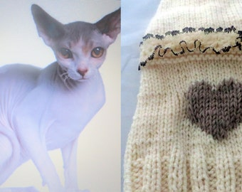 Cat sweater | Etsy