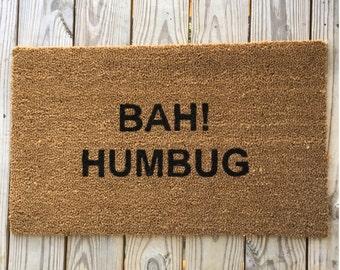 Elephant rug etsy for Bah humbug door decoration