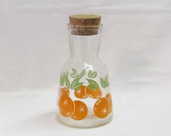 Hazel Atlas Orange Juice Carafe