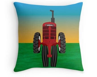 Farmall red tractor photo farm photography red tractor for International harvester room decor