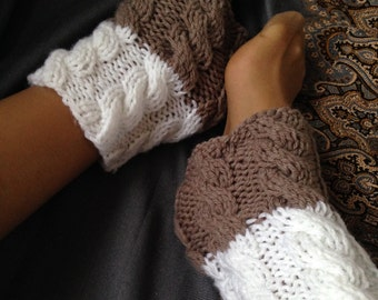 Knit Boot Cuffs Leg Warmers Boot Toppers Boot Socks Womens Boot Cuffs Boot Socks Girls Winter READY TO SHIP