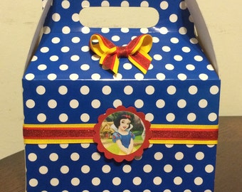 Snow White Birthday Favor Box