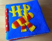 Quiet book for children Harry Potter inspired handmade owl Baby Toddler Felt Sensory book
