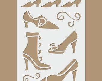 Shoes Stencil