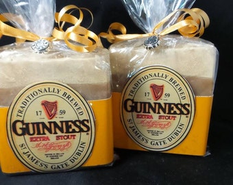 Advanced Order  GUINNESS BEER SOAP  Beer Lovers Soap, Guinness Soap, Luxury Beer Soap, Beer Gift Soap, Groomsmen Soap, Dads Soaps Man Soap