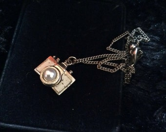Camera necklace 16 in