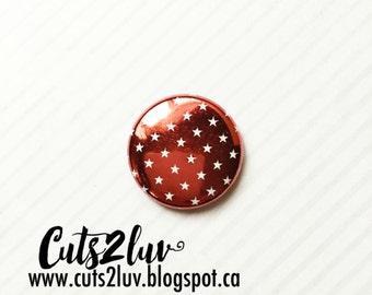 """1 """"metal stars red badge"""