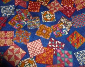 Calico patchwork apron