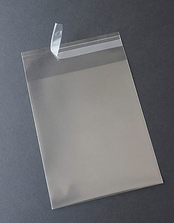 clear square greeting card bags and notecard by oakcreekprintworks, Greeting card