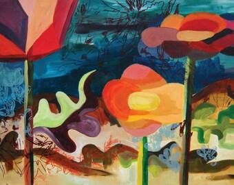 Desert Last - copy of original painting
