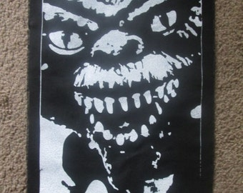 Spike From The Gremlins Back Patch - Print, Screen Print, Punk, Patch, Stencil, Backpatch.