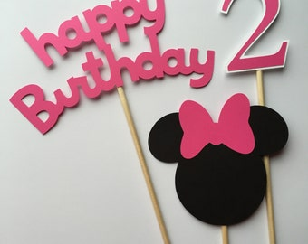 Minnie Mouse Centerpiece, Minnie Mouse, Minnie Mouse Birthday, oh two dles