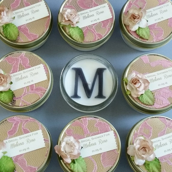 Items Similar To Rose Lace Wedding Favors