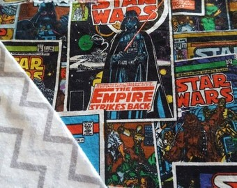 Star Wars baby toddler blanket