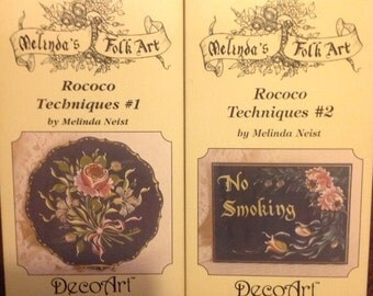 Melinda's Folk Art Videos 1 & 2 FREE SHIPPING