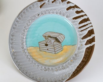 Sneaky Pirate Plate