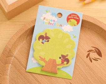 Cute Squirrel in a Tree Sticky Notes SN1074SQT