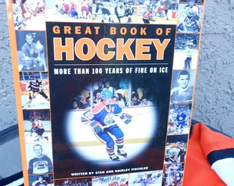 STANLEY CUP Hockey Reference Book History of Hockey  Vintage Hockey Photos The Great One NHL Ice Hockey Collectors Book Color Photos