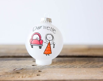 Sweet Sixteen/New Car Christmas Ornament - Personalized for Free