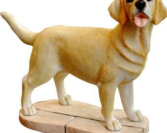 Golden Labrador Retriever Yellow Gift Figurine Ornament