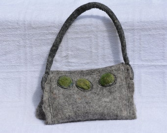 Hand Felted Wool Purse