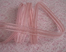 3 YARDS, Pink Ribbon Trim,Apparel,Bows,Bridal Accessories,Decorative Ribbon Trim,Doll Apparel,Ribbon for Favors,Ribbon Decorations
