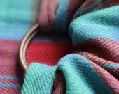 Handwoven Ring Sling- Lindsay Clan Tartan