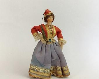 Vintage Trinidad Amp Tobago 5 Inch Boy Doll By Injoytreasures