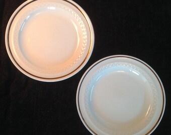 Shenango China Salad Plates - Set of 2