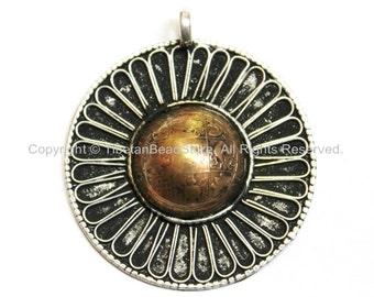 TibetanBeadStore's Custom Design Bhutanese Coin Pendant - Bhutanese Coin - Bhutanese Coin Pendant - Handmade Tibetan Jewelry - WM5525