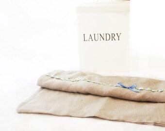 Emma ~ Laundry Bag Lingerie Bag, Linen Bag, Travel Laundry Bag pyjamas bag Wash bag Orchard Rose Mothers day gift