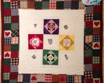 Quilter Charm Mini Wall Hanging