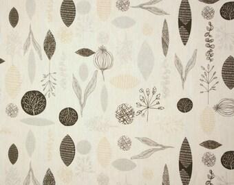 Scandinavian fabric, upholstery fabric, curtain fabric, Swedish fabric, canvas fabric, Kinnamark Aarni