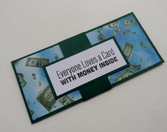 Graduation Money Holder --Money Holder-- High School Graduation -- Money Gift