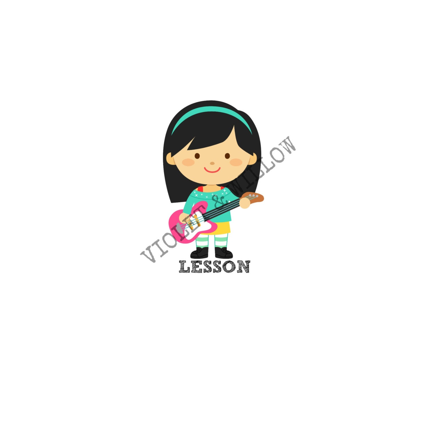 guitar stickers printable guitar stickers guitar lessons music