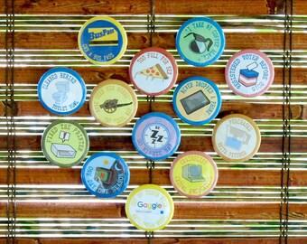 "Adult Merit Badges - Set of 13 (1.25"")"