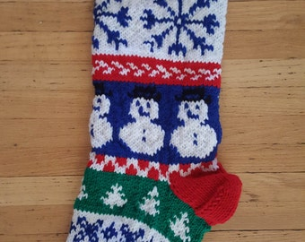 "Shop ""knitted christmas stocking"" in Art & Collectibles"