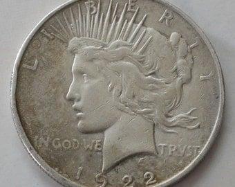 1922 Peace Silver Dollar - sku 2614b03