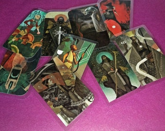 Dragon Age: Inquisition | Companion Tarot Card Bookmarks