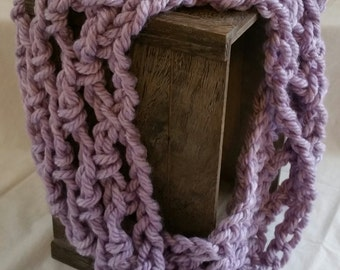 Lavender Cowl Scarf
