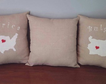 Custom Decorative Keepsake Pillows