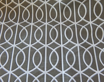 DWELL Gate in Brindle Upholstery Fabric 4 yards