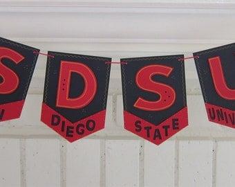 SDSU San Diego State University Banner