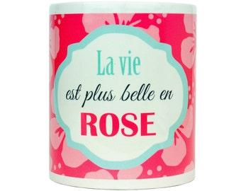 Mug - Life is more beautiful in pink