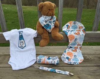 Baby Boy Gift Set - Forrest Animals