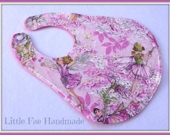 Pink Fairy Baby Bib