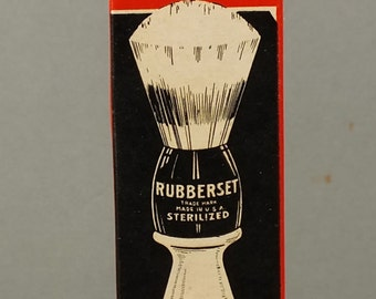 antique shaving brush (not used) NOS ! Rubberset No 1467